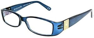 Foster Grant Reading Glasses Womens Fashion Readers New Posh Blue +1.00 to +2.00