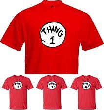 DR SEUSS CAT IN THE HAT THING 1,2,3,4 T-SHIRT XS-XL(CHILDREN) XS-5XL(ADULT)