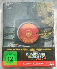 Guardians of the Galaxy Vol. 2 Deutsch 2D 3D Blu-Ray Steelbook NEU NEW OVP