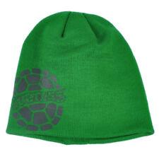 Teenage Mutant Ninja Turtles Cuffless Knit Beanie Green Winter Cartoon Toque