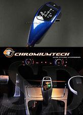 BMW E89 E90 E91 E81 E87 Blu LED SHIFT GEAR KNOB per RHD con luce di posizione del cambio