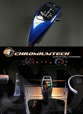 BMW E39 E53 X5 Lemans BLUE LED Shift Gear Knob for RHD w/Gear Position Light NEW