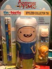 Funko Adventure Time Tin*Tastic Collectors Activity Tin Pencil, Eraser, Stickers