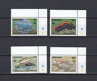 TIMBRE STAMP 4 ILE GRENADE Y&T#1147-50 POISSON FISH NEUF**/MNH-MINT 1984 ~A78
