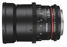 Canon EF Manual Focus Camera Lenses 35mm Focal