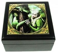 Anne Stocks Large Kindred Spirit  Box New By Nemesis Now