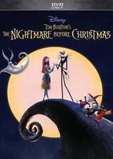 NIGHTMARE BEFORE CHRISTMAS NEW DVD
