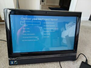 Gateway 20in LCD Desktop 4GB All In One, Touch Screen ZX4300 FOR PARTS/REPAIR