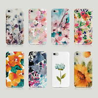 iPhone Samsung Hard Phone Case Shabby Chic Floral Bloom Spring Abstract