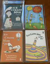 🔥Ice Cream Man #20🔥CGC 9.8 Homage Variant Dr. Seuss 2nd 3rd LCSD [set of 4] NM