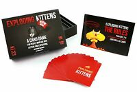 Exploding Kittens Card Game - NSFW (Explicit) Edition - Card Games for Adults