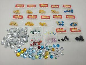 Huge Lot of Assorted Vintage Sulyn Sew-On & Glue-On Jewels Craft Rhinestones