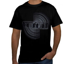 TOOL SPIRO PUNK ROCK Black T Shirt