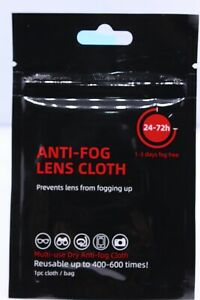 Anti Fog Lens Cloth Eyeglasses Cleaning Wipe Grey Fabric Reusable 400/600 times