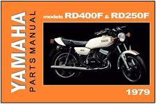 Yamaha RD400 Parts in Manuals & Literature | eBay