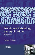 USED (VG) Membrane Technology and Applications by Richard W. Baker