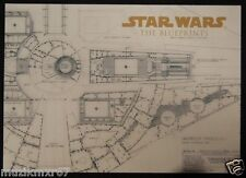 SDCC Comic Con 2012 Handout STAR WARS The Blueprints Promo Lobby Card