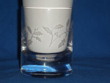 Lenox Holiday Frosted Lights Candle Holly Berries Leaves (F6-9)