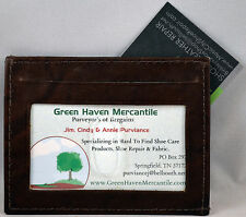 Leather Credit Card ID Wallet