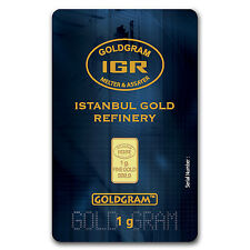 1 gram Gold Bar - Istanbul Gold Refinery (In Assay) - SKU #61586