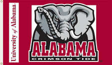Alabama Crimson Tide Big Al 3 x 5 Flag