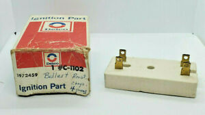 NOS C-1102 69-93 Mopar 4 wire Ballast Resistor - Delco 1972459 / RU12 / 6R1008