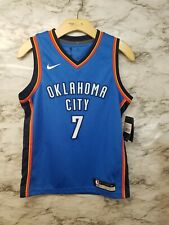c26350a2f5a4 Nike Carmelo Anthony Oklahoma City Thunder NBA Youth M Blue Swingman Jersey  -A