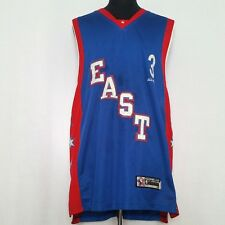 03e04022258 Reebok East Size 52 All Star Game Jersey Iverson Mens Blue Red Staining  Vintage