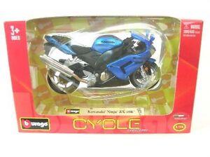 Kawasaki Ninja Zx - 10 R (Blue)