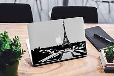 Decal for Macbook Pro Paris skyline Sticker Vinyl laptop mac 11 13 15 skin tower