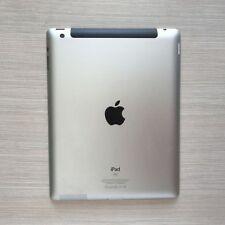 Silver Original For iPad 3 3rd Gen 64GB WiFi + 3G A1430 Back Cover Rear Housing