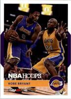 2016-17 Hoops Kobe 2K Hoops Los Angeles Lakers Basketball Card #19 Kobe Bryant