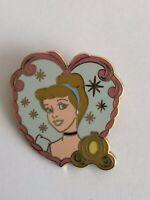 Disney Princess - Starter Set Lanyard And 4 Pin Cinderella Heart Disney Pin (B7)