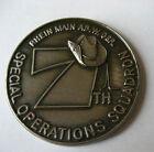 7th SPECIAL OPERATIONS SQUADRON Rhein Main AB  Flintlock '86 Military Coin