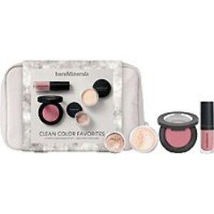 Bare Minerals Clean Color Favorites 4 pcs Makeup Gift Set Gen Nude Beach Veil