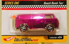 HOT WHEELS 2002 SERIES ONE RLC EXCLUSIVE * BEACH BOMB TOO * PINK * #4285/10k