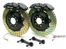 BREMBO Front GT Brake 4Piston Caliper Black 355x32 Drill Disc Pontiac GTO 04-06
