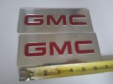 GMC Decal Sticker 7 Inches lot of 2 Trucks Advertising General Motor Company 71