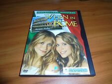 When In Rome (DVD 2002, Full Frame) Mary-Kate Ashley Olsen Twins Used