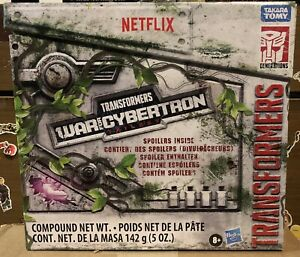 Transformers War for Cybertron WFC Trilogy Spoiler pack Megatron & Skelivore New