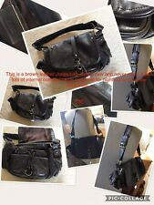 Jones Brown Leather Handbag With Lots Of Compartments