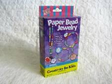 Paper Bead Jewelry Craft Kit - Creativity for Kids - Faber-Castell