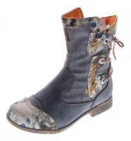 Donna pelle Inverno Stivaletti Comfort Boots Caviglia Scarpe Tma 5016 Foderato