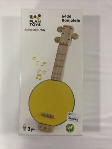 PlanToys Banjolele 6436 Sustainable Play 3+ years Brand new in Box