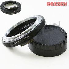 Macro AF Confirm Canon FD Mount Lens to Nikon F Adapter D4 D600 D800 D3200 D5200