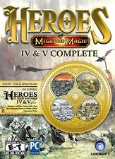 Heroes of Might and Magic IV & V PC Spiele Windows 10 8 7 Computerspiele Strategie