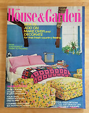 House and Garden Magazine 1974 Walter Ramberg Warren Cox Charles Marks Pewter