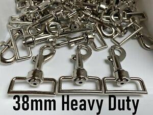 38mm Trigger Swivel Heavy Duty Metal Clips for Webbing Lead Horse Rug Snap Hook