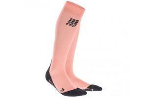 CEP Women's Compression Socks Pink Long High Running Sport WP40XK