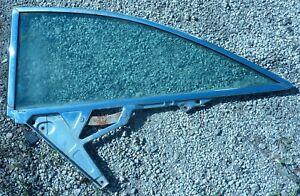 1959 1960 Chevrolet Impala Left Hand LH Quarter Panel Window 2 Door Glass OEM